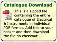 ELECTRICAL AND INSTRUMENTS CATALOGUE (PDF)
