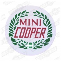 EMBLEM-COOPER LAUREL, fits BG2602 and BG2702 gearknobs