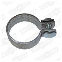 EXHAUST CLAMP-FLAT-1 7/8'' INTERNAL DIAMETER