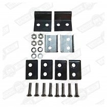 FITTING KIT- ONE PAIR DOOR CHECK STRAPS- EXT. HINGED CARS