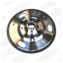 FLYWHEEL- LIGHTENED STEEL,ROAD USE, INERTIA STARTER