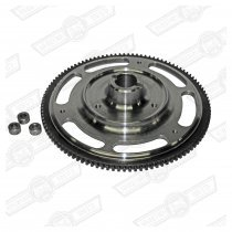 FLYWHEEL-ULTRA LIGHT STEEL DIAPHRAGM CLUTCH, INERTIA STARTER