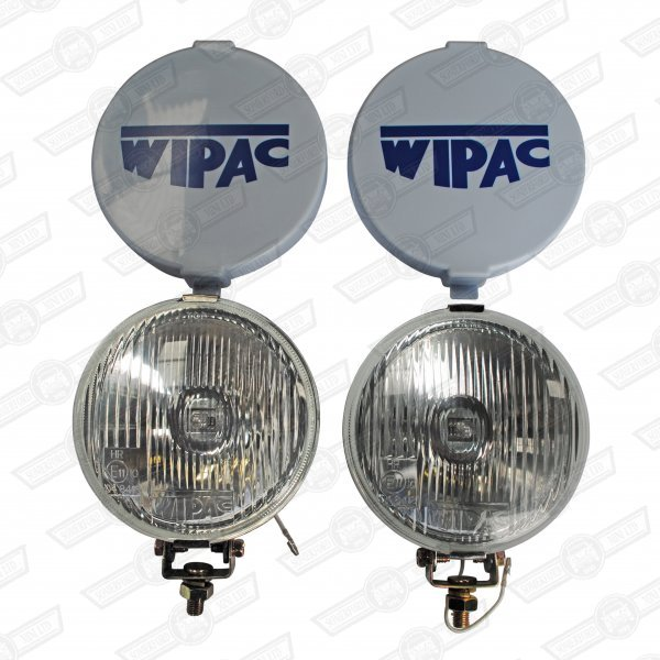 FOG LAMP SET-5.5'' CHROME