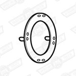 GASKET-HEADLAMP BOWL TO BODY-CIBIE LAMPS