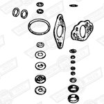 GASKET KIT-H4-CHOKE MECHANISM TYPE