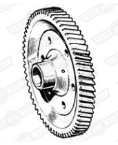 GEAR-FINAL DRIVE-58 TEETH-MANUAL-A+ 2.762:1 RATIO
