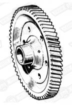 GEAR-FINAL DRIVE-65 TEETH-MANUAL-4.333:1 RATIO