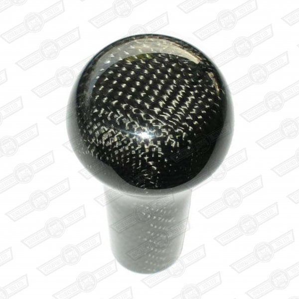GEAR KNOB- CARBON FIBRE, PLAIN TOP