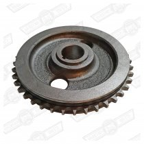 GEAR-TIMING CHAIN, CAMSHAFT,USE WITH RUBBER TENSIONER 59-74
