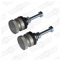 GRILLE BUTTON-ALLOY-PAIR