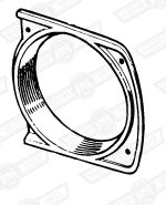 GRILLE END SECTION-CLUBMAN & GT-LH