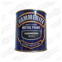 HAMMERITE-BRUSHABLE-500ml- BLACK