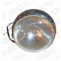 HEADLAMP ASSY.-P45T-2 ADJ.-NO SIDELIGHT-LHD