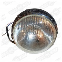 HEADLAMP ASSY.-P45T-2ADJ.-WITH SIDELIGHT-LHD