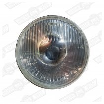 HEADLAMP UNIT-P45T, NO SIDELIGHT-'59-'96-LHD ONLY