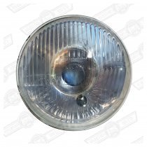 HEADLAMP UNIT-P45T, WITH SIDELIGHT-'59-96-LHD ONLY