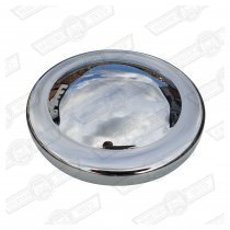 HUB CAP-STAINLESS-FITS 10'' WHEEL CENTRE