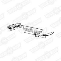 INTERIOR TRIM KIT-(state colour)-1275GT LHD-'69-'75