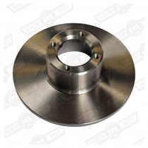 KAD BRAKE DISC 8.4'' SOLID PLAIN FACE PAIR