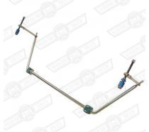KAD FRONT ANTI ROLL BAR KIT 5'8'' ROAD/RACE POLY BLOC BUSHES