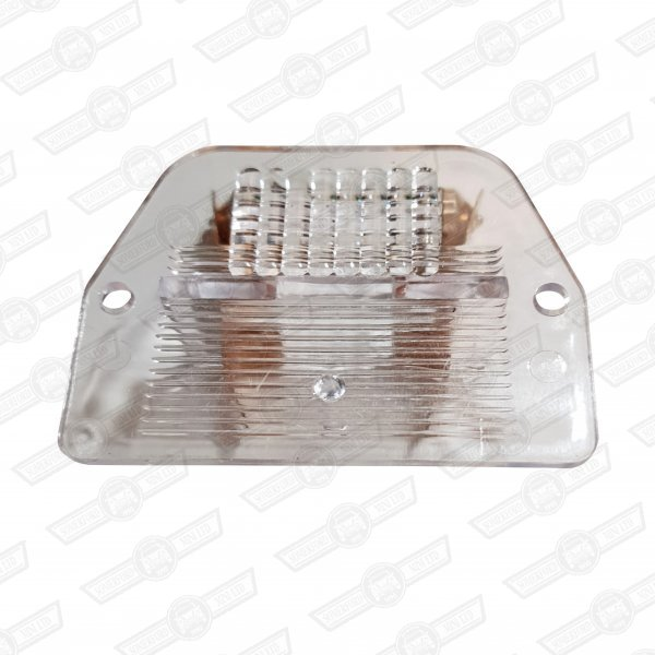 LENS & BULB-REAR NO.PLATE LAMP-'69 TO '96