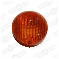 LENS-FRONT INDICATOR-AMBER-'74-'80-EXPORT
