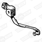 LEVER & LINK-PICK UP-MAIN JET-HS4-AUD679 CARBS
