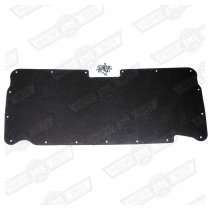 LINER-BOOT LID-BLACK-INCLUDES FIXINGS