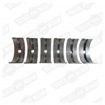 MAIN BEARING SET 850cc '59-'69 +010''