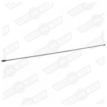 MAST-ROOF MOUNTED AERIAL-BLACK, 10mm