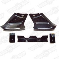 MOUNTING KIT- REAR SEAT BELTS (5 x WELD-IN BRACKETS)