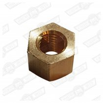 NUT-BRASS-5/16 UNF-MANIFOLD TO CYLINDER HEAD-STD LENGTH