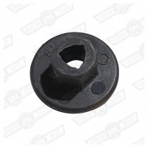 NUT-NYLON-FUEL PIPE PROTECTOR & HEATSHIELD