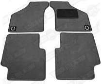 OVERMAT SET-4 PIECE-CHARCOAL-RHD