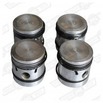 PISTON SET-5 RINGS-850cc +020''