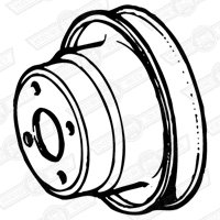 PULLEY-WATER PUMP-1098cc-MINI SPECIAL SWITZERLAND