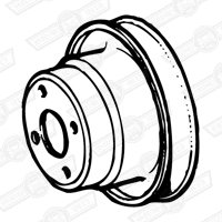 PULLEY-WATER PUMP- 4 17/64'' DIA. 1098cc EXCEPT SPECIAL