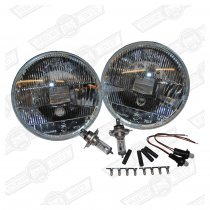 QUADOPTIC HALOGEN HEADLAMP SET+ SIDELIGHTS-LHD