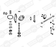 REBUILD KIT-SINGLE H4 CARBURETTER-CHOKE MECHANISM TYPE