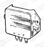 REGULATOR BOX-LUCAS 4TR-11AC ALTERNATOR