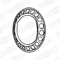 RIM EMBELLISHER-WITH HOLES-850 & 998 SALOON-'69-'75