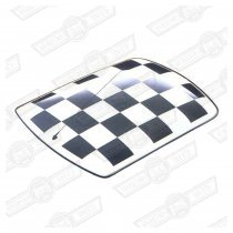 ROOF KIT-CHEQUERED-BLACK SQUARES