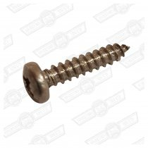 SCREW-SELF TAPPING, PAN HEAD No6 x 5/8'' CHROME