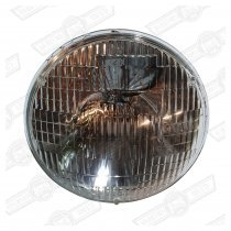SEALED BEAM UNIT WITH SIDELIGHT-L/H-DIP- (RHD CARS)