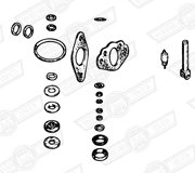 SERVICE KIT-SINGLE H4 CARBURETTER-CHOKE MECHANISM TYPE