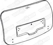 SKIN-BOOT LID OUTER MK1&2