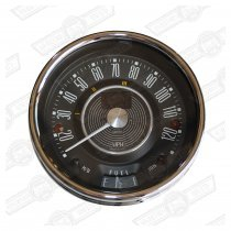 SMITHS SPEEDO 120 MPH BLACK FACE MK1 electronic/programmable