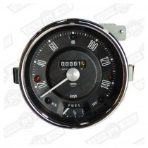 SMITHS SPEEDO 140KPH BLACK FACE MK2/3