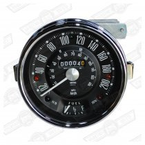 SMITHS SPEEDO 200 kph-BLACK FACE MK 2/3 COOPER 'S'