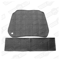 SOUNDPROOFING KIT-UNDERBONNET-2 PIECE-MINI-'69 ON